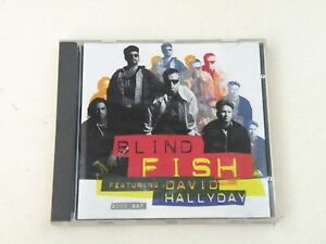 BLIND-FISH-featuring-DAVID-HALLYDAY-2000-BBF-CD-SCOTTI-BROS-RECORDS-1994-NM-DP