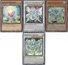 Stardust Dragon + Majestic Star Dragon + Stardust Dragon Assault Mode - Yugioh