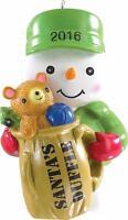 Carlton Heirloom 2016 Aafes Snowman Ornament