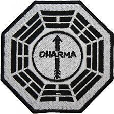 """LOST DHARMA The Arrow Station 4"""" Logo Embroidered Iron-on patch"""