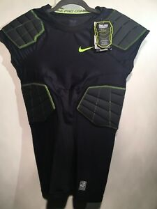 720f6a2fe8e4 Nike Hyperstrong 3.0 Compression 4-Pad - 584396-011 - Black Neon ...