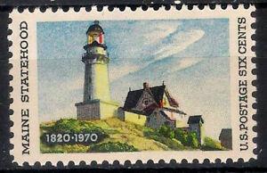 USA. 1970. 6 Cents. Maine Statehood (Nuevo/New)