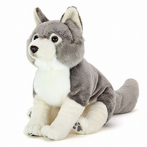 Wolf Plush Stuffed Animal COLORATA