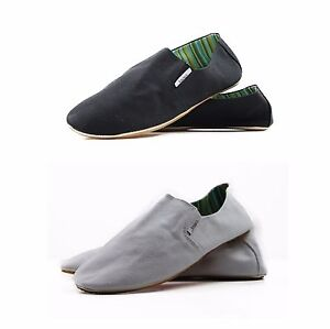mens zasel cotton comfortable canvas slip on casual shoes