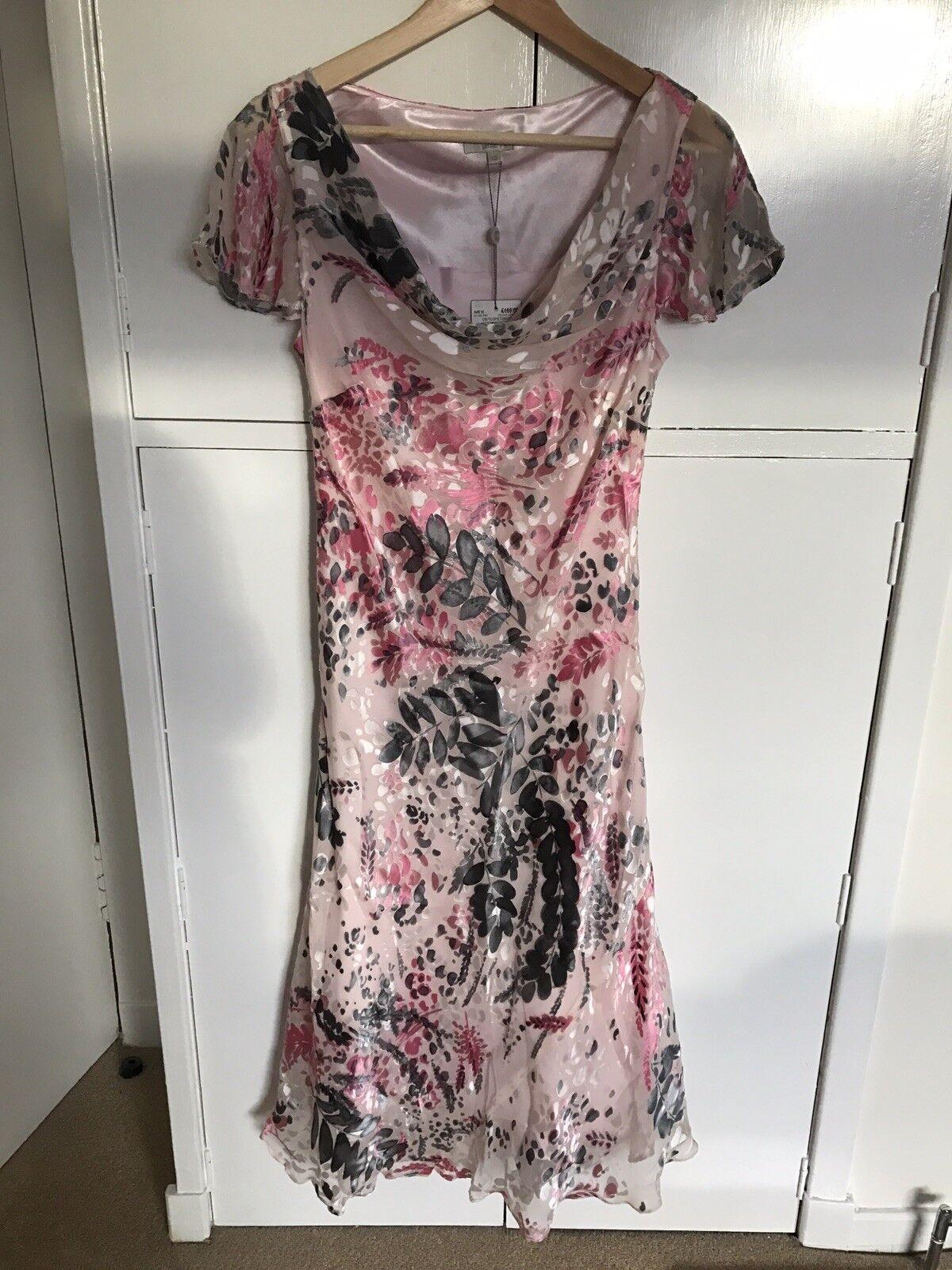 CC Petite Size 12 Pink Dress