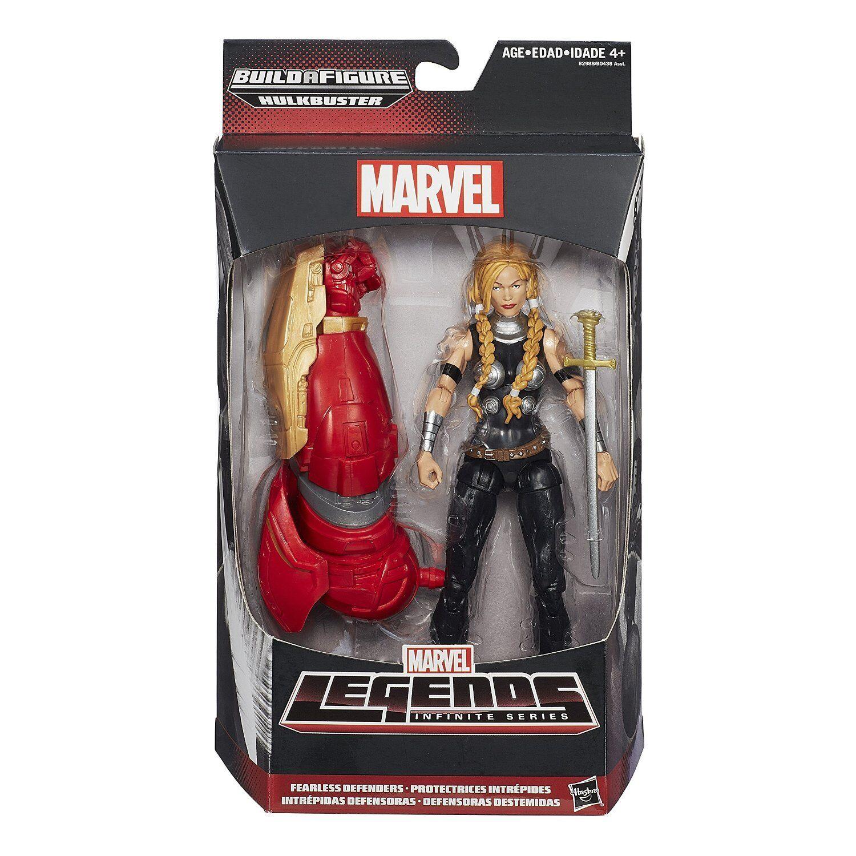 MARVEL LEGENDS Infinite Series_Hulkbuster Series__VALKYRIE 6 inch figure_MIP_New