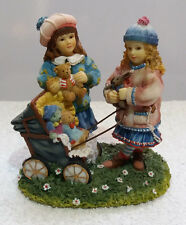 Leonado Collection Paintbox Poppets THE OLD PRAM Figurine by Christine Haworth