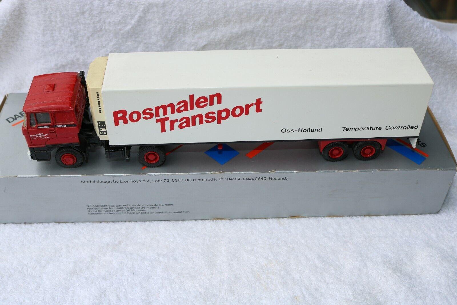 Lion Car DAF 3300 Rosmalen Transport temperature trailer very near mint in box