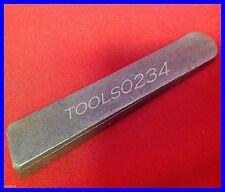 "Ajax Tools 882 Steel Stock Wedge 6"" Long x 1/2"" Height x 1"" Width USA MADE"