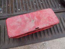 Mccormick Farmall Ih Implement Or Tractor Original Vintage Metal Tool Box