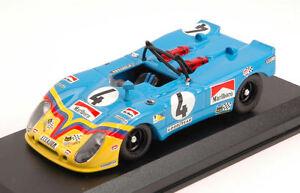 Porsche 908/2 Flet # 4 7ème Lm 1973 G. Ortega / F. Merello Modèle 1:43