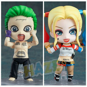 Film-Suicide-Equipe-Q-Edition-Joker-Harley-Quinn-10cm-Figurine-Modele-Jouet