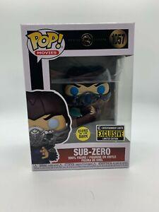 Funko Pop! Mortal Kombat-Sub-Zero Glow in the Dark Exclusive NIB MINT W/Case