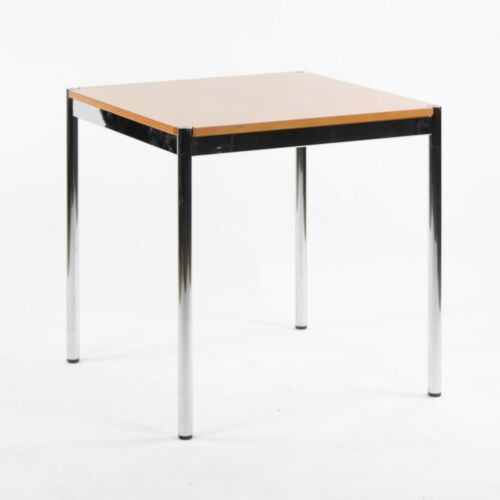 USM Haller Beech Wood Square Table Modular 1500x740 Knoll Office Sets Avail