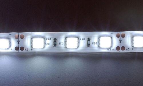 Strip led smd 5050 300 led 6500k striscia 5 metri IP65 illuminazione per esterno