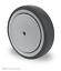 TRANSPORTROLLEN Schwerlastrollen Apparaterollen Gummi Rad 80 100 125 150 mm
