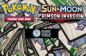 EMAIL Online Code ONLY - 20X Crimson Invasion Booster Pack - Pokemon Online TCG