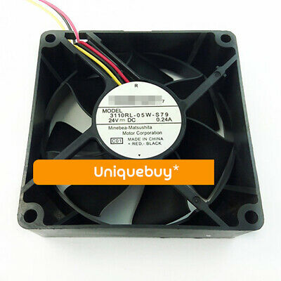 24V for NMB Large air volume 8CM 3110RL-05W-S79 0.24A Inverter fan