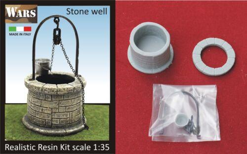 WARS Pozzo in pietra Stone well kit 1//35