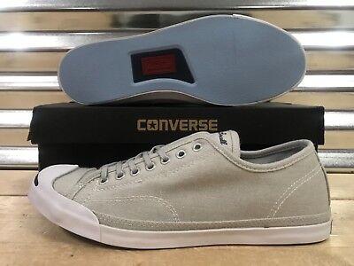 0f30032b828 Details about Converse Jack Purcell JP LP Low Profile Slip On Shoes Ash  Gray SZ 10 ( 154781C )