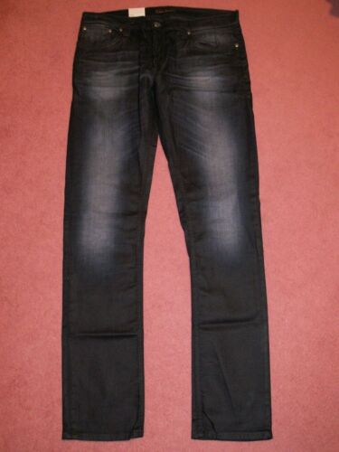 skinny Vestibilità Nudie Long Co L34 John Stretch W34 Jeans wXwRqH