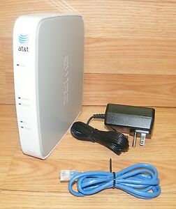 2Wire Gateway 2701HG-B AT&T 54 Mbps 4-Port 10/100 Wireless G Router ...