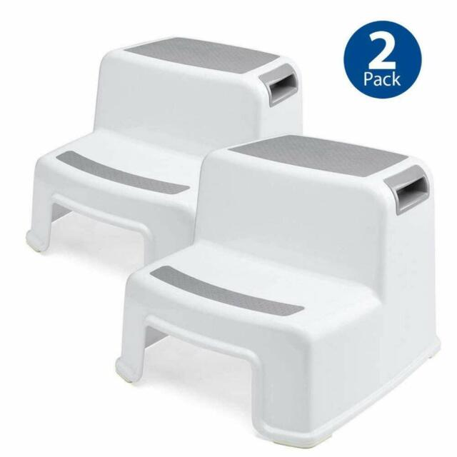 Swell 2 Tidy Steps Step Stool For Kids 2 Pack Toddler Toilet Potty Training Child Pdpeps Interior Chair Design Pdpepsorg