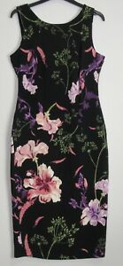 New-Marks-amp-Spencer-Per-Una-Floral-Print-Bodycon-dress-Uk-size-8-22