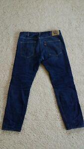 Levi Strauss Co Para Hombre Azul Levi S 606 Jeans W 36 L 32 Denim Pantalones De Vestir De Cierre De Cremallera Ebay