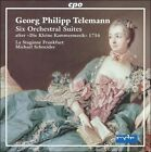 "Telemann: Six Orchestral Suites after ""Die Kleine Kammermusik"" 1716 (CD, Aug-2004, 2 Discs, CPO)"