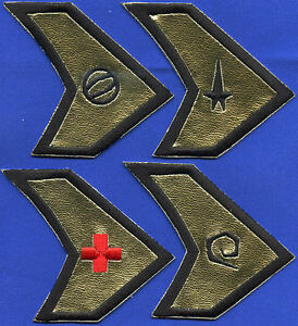Star Trek Alternate Universe Enterprise Reverse Command Insignia Patch