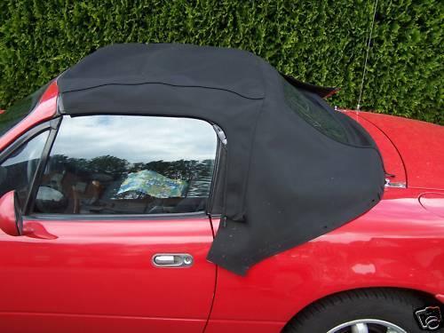 Cerniera lampo MX-5 NA Mazda MX5 cappotta PVC nero incl