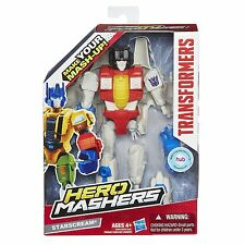 Transformers Hero Mashers Starscream Figure Recommended for ages 4+