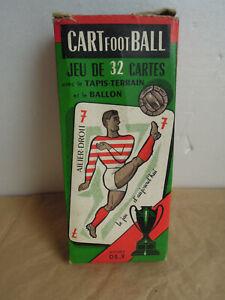 RARE-Cartes-a-jouer-034-La-Ducale-034-FOOTBALL-Vintage-1956