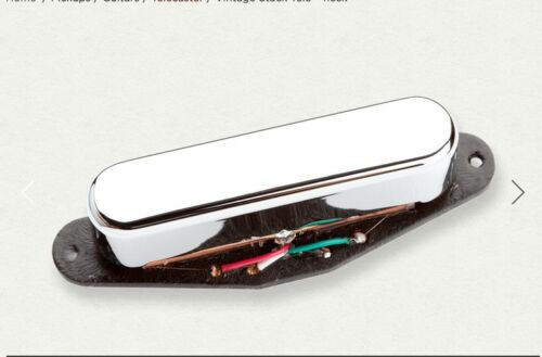 SEYMOUR DUNCAN TELE VINTAGE LEAD STACK CHROME STK-T1n NECK PICKUP ONLY