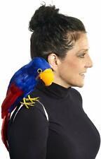 "12/"" Zombie Pirate Shoulder Parrot Strap-on Halloween Costume Accessory Prop Bird"