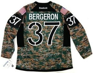 Image is loading PATRICE-BERGERON-BOSTON-BRUINS-REEBOK-PREMIER-CAMO-JERSEY- a1e09429d