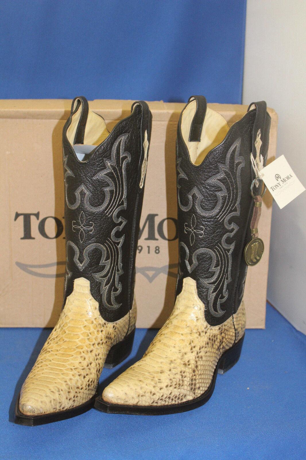 TONY MORA MORA TONY Stiefel Stiefel python  westernstiefel cowboystiefel  gr. 45  neu snake 14d076