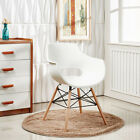 2x Eiffel Tube Chaise Salle À Manger Olivia Style Concepteur De Blanc Noir Gris