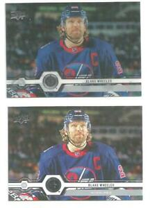 BLAKE-WHEELER-Winnipeg-Jets-2019-20-UPPER-DECK-CLEAR-CUT-PARALLEL-356