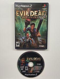 Evil Dead: Regeneration (Sony PlayStation 2, 2005) NO MANUAL!! PS2
