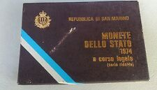 MONETE DELLO STATO REPUBBLICA DI SAN MARINO, SERIE 1974