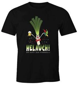 Herren-T-Shirt-Karneval-Fasching-Fastnacht-Helauch-Lauch-Helau-lustig-Fun-Shirt