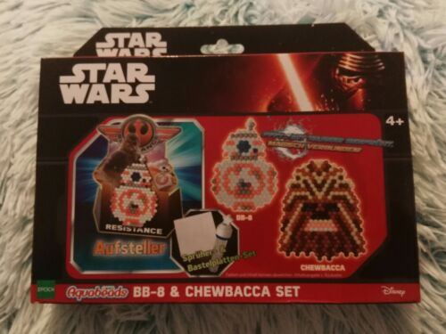 Aquabeads Star Wars BB-8 Chewbacca FigurDisney Epoch Neu OVP Bindeez Wasser Perl