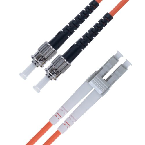 LC to ST Fiber Patch Cable Multimode Duplex - 3m (9ft) - OM2 - Beyondtech