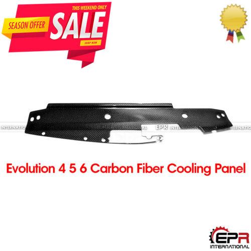 For Mitsubishi Evolution EVO 5 6 Carbon Fiber Cooling Slam Radiator Panel Kits