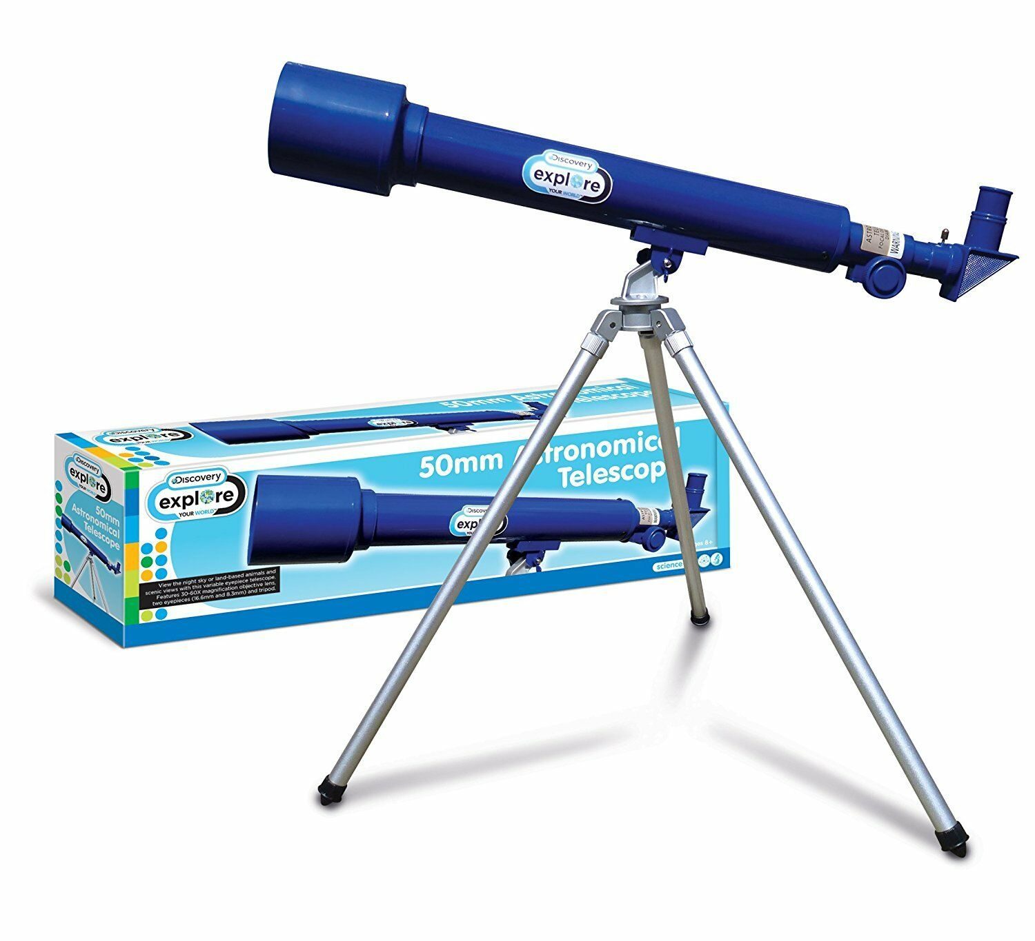 Discovery Kids 50mm Astronomical Telescope