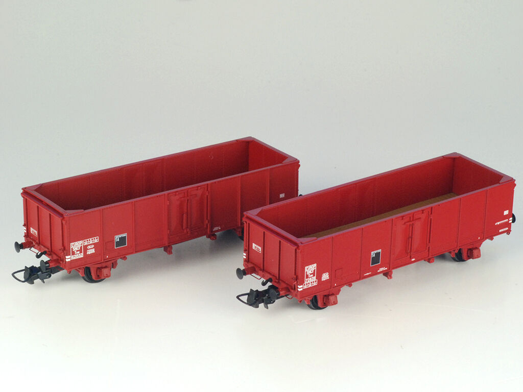 R37 Collect. p43004c p43004c p43004c SNCF SET 2x off güterwg Villach TOW rosse-Marroneeei ep3 h0 NUOVO + OVP c6d54c