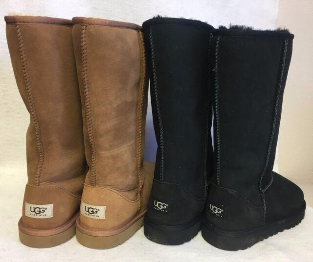 3b88515ba3d UGG Australia Classic Tall Kids Twinface Sheepskin Boot Chestnut Youth 5229Y
