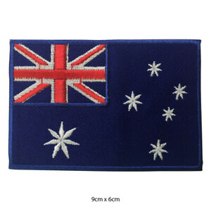 Australia-National-Flag-Embroidered-Patch-Iron-on-Sew-On-Badge-For-Clothes-etc